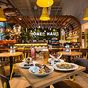 Doner Haus on West Nile St, Glasgow . Picture Robert Perry 14th Feb 2018<br /> <br /> Must credit photo to Robert Perry<br /> FEE PAYABLE FOR REPRO USE<br /> FEE PAYABLE FOR ALL INTERNET USE<br /> www.robertperry.co.uk<br /> NB -This image is not to be distributed without the prior consent of the copyright holder.<br /> in using this image you agree to abide by terms and conditions as stated in this caption.<br /> All monies payable to Robert Perry<br /> <br /> (PLEASE DO NOT REMOVE THIS CAPTION)<br /> This image is intended for Editorial use (e.g. news). Any commercial or promotional use requires additional clearance. <br /> Copyright 2014 All rights protected.<br /> first use only<br /> contact details<br /> Robert Perry     <br /> 07702 631 477<br /> robertperryphotos@gmail.com<br /> no internet usage without prior consent.         <br /> Robert Perry reserves the right to pursue unauthorised use of this image . If you violate my intellectual property you may be liable for  damages, loss of income, and profits you derive from the use of this image.