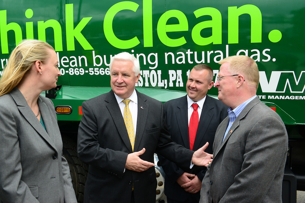 CNG Station opening in Levittown, PA