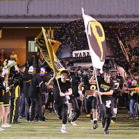 Adam Robison | BUY AT PHOTOS.DJOURNAL.COM<br /> Pontotoc takes the field to play the visiting Shannon Red Raiders Friday night.