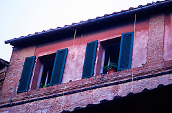 Apartments , Architecture , City , Colors , Facade , Florence , Horizontal , Italy , No People , Shutters , Style , Windows , color image