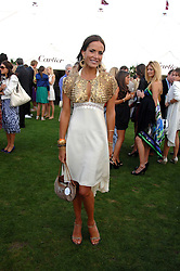 SOPHIE ANDERTON at the Cartier International polo at Guards Polo Club, Windsor Great Park on 29th July 2007.<br />