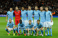 Players of Malmo pose for a team picture prior to the UEFA Champions League Group A football match between Paris Saint Germain and Malmo FF on September 15, 2015 at Parc des Princes stadium in Paris, France. Photo Jean Marie Hervio / Regamedia / DPPI