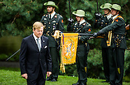 King WILLEM ALEXANDER and Prime Minister Rutte seventy-year commemoration of the surrender of