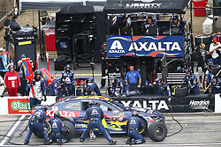 July 22, 2018 - Loudon, New Hampshire, United States of America - William Byron (24) comes down pit road for service during the Foxwoods Resort Casino 301 at New Hampshire Motor Speedway in Loudon, New Hampshire. (Credit Image: © Justin R. Noe Asp Inc/ASP via ZUMA Wire)