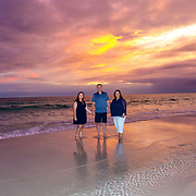 Sullivan (Debbra) Family Beach Photos