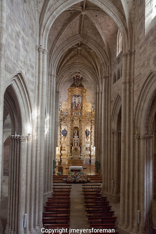 Santa Maria la Real is a monastery in the small town of Nájera in the La Rioja community, Spain