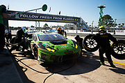 March 16-18, 2017: Mobil 1 12 Hours of Sebring. 11 GRT Grasser Racing Team, Lamborghini Huracan GT3, Rolf Ineichen