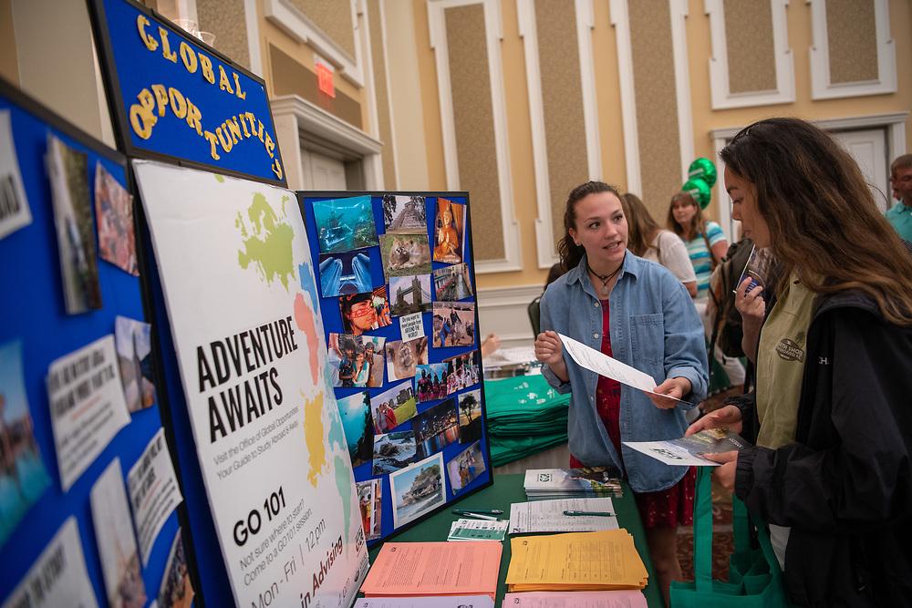 BSO, Bobcat Student Orientation, Baker Center, Parents, Students