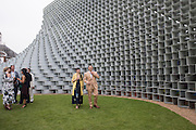 Ilya Uryupin: Elena Shchukina2016 SERPENTINE SUMMER FUNDRAISER PARTY CO-HOSTED BY TOMMY HILFIGER. Serpentine Pavilion, Designed by Bjarke Ingels (BIG), Kensington Gardens. London. 6 July 2016