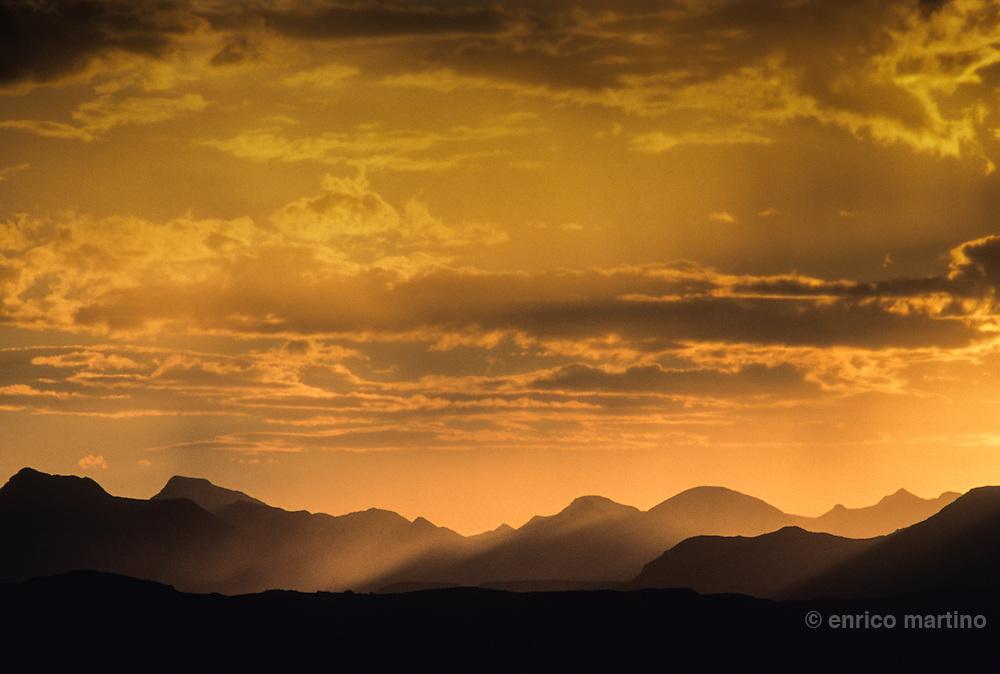 Mountain range near Doro Nawas.
