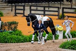 Heiland Jannik, GER, Dark Beluga, Lunger Rosiny Barbara<br /> World Equestrian Games - Tryon 2018<br /> © Hippo Foto - Stefan Lafrenz<br /> 18/09/18