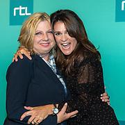 NLD/Halfweg20190829 - Seizoenspresentatie RTL 2019 / 2020, Loretta Schrijver en Quinty Trustfull