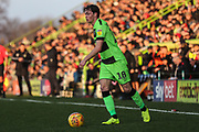 Forest Green Rovers Theo Archibald(18) during the EFL Sky Bet League 2 match between Forest Green Rovers and Morecambe at the New Lawn, Forest Green, United Kingdom on 17 November 2018.