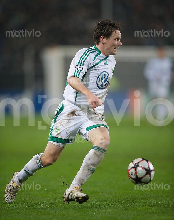 Fussball Uefa Champions League VFL Wolfsburg - Manchester United FC Sascha RIETHER (Wolfsburg).