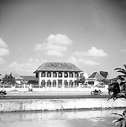 National Archives of Indonesia Building (Gedung Arsip Nasional) 2013. The former house of R. de Klerk (1777-1780). Jakarta - Indonesia.<br /> 1969