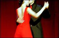 Tango dancers at the Edinburgh Festival.