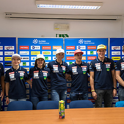 20170911: SLO, Alpine Skiing - Press conference of Slovenian Alpine Ski Team