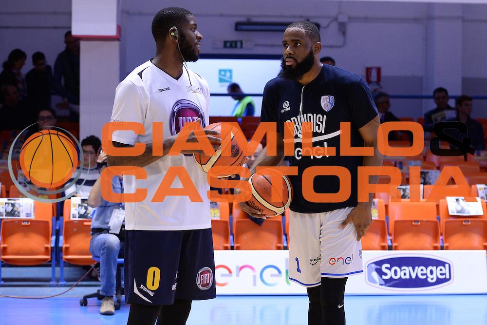 Wilson Jamil, Agbelese Danny<br /> Enel Brindisi - Fiat Torino<br /> LegaBasket 2016/2017<br /> Brindisi 30/10/2016<br /> Foto Ciamillo-Castoria