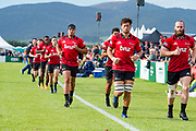The Crusaders during the Highlands V Crusaders, Super Rugby Preseason match in Waimumu, Gore, Southland, New Zealand. 15 February 2018. Copyright Image: Clare Toia-Bailey/www.photosport.nz Highlands V Crusaders, Super Rugby Preseason match in Waimumu, Gore, Southland, New Zealand. 15 February 2018. Copyright Image: Clare Toia-Bailey/www.photosport.nz