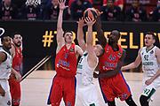 Paulis Jankunas, Othello Hunter<br /> CSKA Moscow - Zalgiris Kaunas<br /> Euroleague Final Four 2018 - Final 3 - 4 Place<br /> Euroleague 2017/2018<br /> Belgrade, 20/05/2018<br /> Foto M.Ceretti / Ciamillo-Castoria