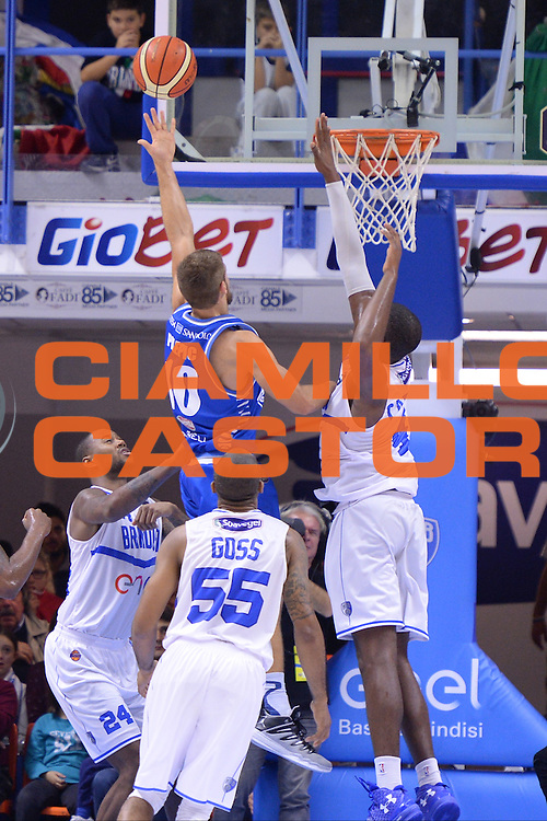 Pilepic Fran<br /> Enel Brindisi - Red October Cantu<br /> BASKET SerieA 2016-2017<br /> Brindisi 21 /11/2016 <br /> FOTO CIAMILLO