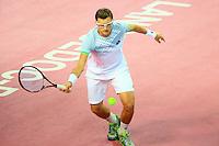 Denis ISTOMIN - 06.02.2015 - Tennis - Open Sud de France- Montpellier<br /> Photo : Nicolas Guyonnet / Icon Sport