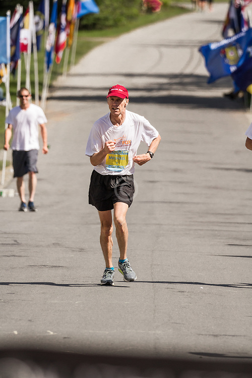 The Great Run: The Great Run Marathon and 6-Hour Race: Micheal Westphal, with Parkinsons disease, completes marathon in time that qualifies him for Boston Marathon