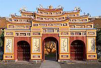 Vietnam. Hué. La cité impériale. // Vietnam. Hué. The Imperial city.