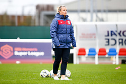 Tanya Oxtoby manager of Bristol City Women prior to kick off - Mandatory by-line: Ryan Hiscott/JMP - 14/10/2018 - FOOTBALL - Stoke Gifford Stadium - Bristol, England - Bristol City Women v Birmingham City Women - FA Women's Super League 1