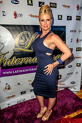 LOS ANGELES, CA - SEPTEMBER 2 Cuban Model and Actress Sissi Fleitas attends the purple carpet of Latina International Beauty Convention at The LA Hotel l in downtown Los Angeles on Friday night 2016 September. Byline, credit, TV usage, web usage or linkback must read SILVEXPHOTO.COM. Failure to byline correctly will incur double the agreed fee. Tel: +1 714 504 6870.