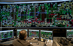 FOT&Oacute;GRAFO: Jaime Villaseca ///<br /> <br /> Sala de control del Sistema Interconectado Central.