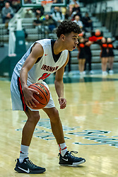 25 November 2019: 49th Intercity Tournament - Central Catholic Saints v Normal Community Ironmen at Shirk Center in Bloomington IL (Photo by Alan Look)
