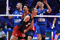 Erik Shoji of USA<br /> Torino 30-09-2018 Pala Alpitour <br /> FIVB Volleyball Men's World Championship <br /> Pallavolo Campionati del Mondo Uomini <br /> Finals / 3th place<br /> Serbia - USA  <br /> Foto Antonietta Baldassarre / Insidefoto