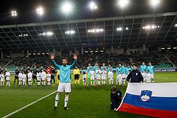 Bostjan Cesar during friendly football match between National teams of Slovenia and Belarus, on March 27, 2018 in SRC Stozice, Ljubljana, Slovenia. Photo by Urban Urbanc / Sportida