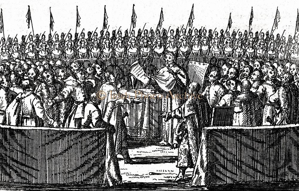 Election of Stanis?aw Leszczy?ski in 1704. Stanis?aw I Leszczy?ski (1677 – 1766) King of the Polish-Lithuanian Commonwealth