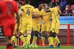 Goal, Lee Brown of Bristol Rovers scores, Crawley Town 0-1 Bristol Rovers - Mandatory by-line: Jason Brown/JMP - 05/11/2016 - FOOTBALL - Checkatrade.com Stadium - Crawley, England - Crawley Town v Bristol Rovers - Emirates FA Cup first round