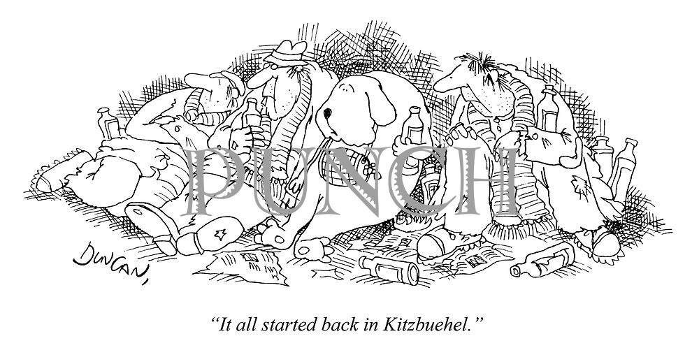 """It all started back in Kitzbuehel."""