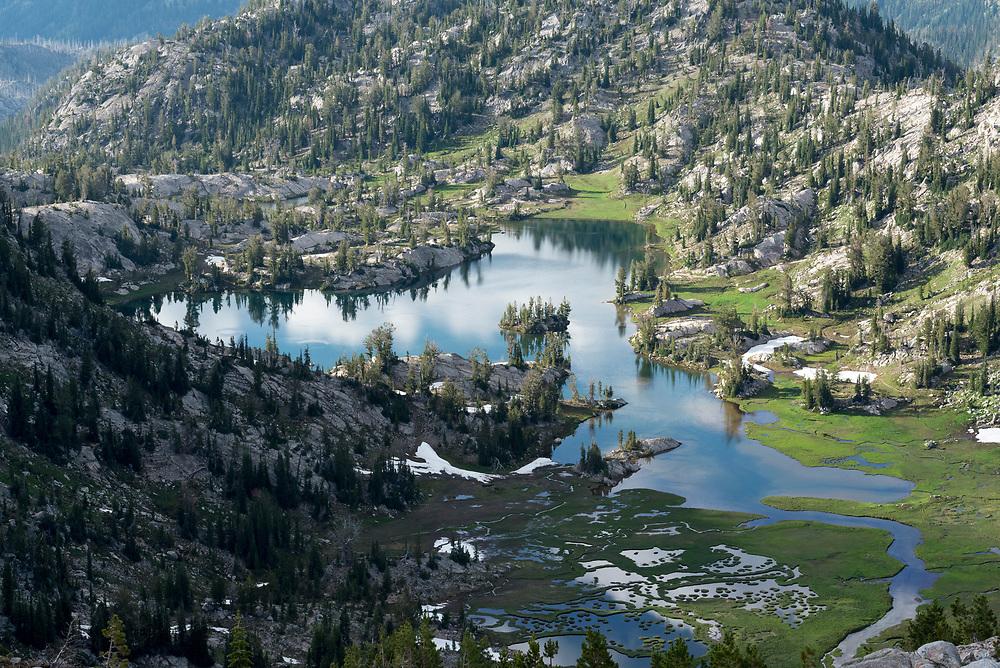 Swamp Lake, Eagle Cap Wilderness, Oregon.