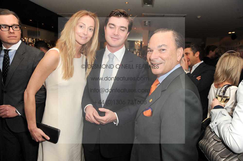 A party to promote the exclusive Puntacana Resort &amp; Club - the Caribbean's Premier Golf &amp; Beach Resort Destination, was held at The Groucho Club, 45 Dean Street London on 12th May 2010.<br /> <br /> Picture Shows:- Left to right, LORD &amp; LADY JAMES RUSSELL and FRANK RAINIERI