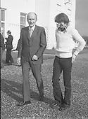 1978 - John Treacy meets President Hillery (L77)