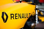 May 25-29, 2016: Monaco Grand Prix. Renault F1 detail