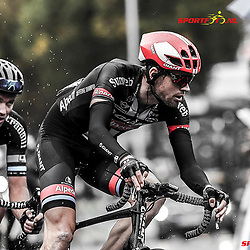 MUNSTER (GER) cycling  The last international race of the German cycling season is the Sparkasse Munsterland Giro. The start in 2016 was in Gronau and the finish after 20o km in Munster. Tom Stamsnijder