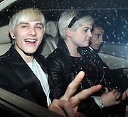 01.JULY.2009 - LONDON<br /> <br /> KELLY OSBOURNE AND BOYFRIEND LUKE WORELL LEAVING SCETCH NIGHT CLUB, MAYFAIR FOR THE LAUNCH OF BETH DITTO'S NEW CLOTHES RANGE FOR EVANS SHOPS THAT SHE CO-DESIGNED.<br /> <br /> BYLINE: EDBIMAGEARCHIVE.COM<br /> <br /> *THIS IMAGE IS STRICTLY FOR UK NEWSPAPERS &amp; MAGAZINE ONLY*<br /> *FOR WORLDWIDE SALES &amp; WEB USE PLEASE CONTACT EDBIMAGEARCHIVE - 0208 954 5968*