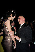 STEPHEN JONES; L'WREN SCOTT; British Fashion Awards Ceremony. Supported by Swarovski and organised by British Fashion Council. Lawrence Hall. Greycoat St. London SW1. 25 November 2008 *** Local Caption *** -DO NOT ARCHIVE-© Copyright Photograph by Dafydd Jones. 248 Clapham Rd. London SW9 0PZ. Tel 0207 820 0771. www.dafjones.com.