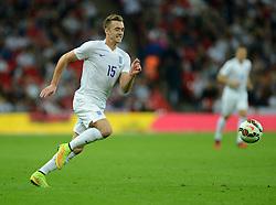 England's Callum Chambers (Arsenal)  - Photo mandatory by-line: Alex James/JMP - Mobile: 07966 386802 - 3/09/14 - SPORT - FOOTBALL - London - Wembley Stadium - England v Norway - International Friendly