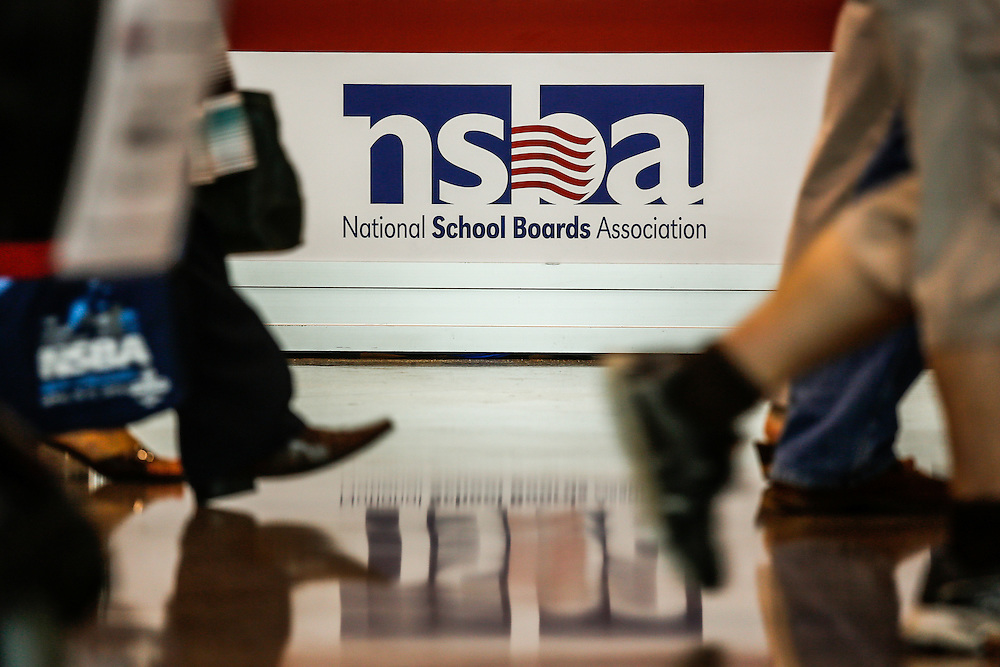 This is the 74th Annual Conference of the National School Board Association in New Orleans. Kathy Anderson Photography