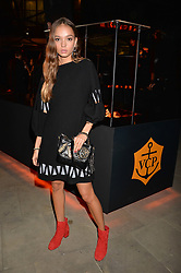 Inka Williams at the Veuve Clicquot Widow Series launch party curated by Carine Restoin-Roitfeld and CR Studio held at Islington Green, London England. 19 October 2017.