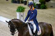 Diederik van Silfhout on Four Seasons during the Equestrian FEI World Cup Dressage Lyon 2017 on November 2, 2017 at Eurexpo Lyon in Chassieu, near Lyon, France - Photo Romain Biard / Isports / ProSportsImages / DPPI