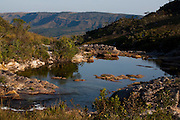Sao Roque de Minas_MG, Brasil...Rio Sao Francisco no Parque Nacional Serra da Canastra em Sao Roque de Minas, Minas Gerais...The Sao Francisco river in the Serra da Canastra National Park in Sao Roque de Minas, Minas Gerais...Foto: LEO DRUMOND / NITRO