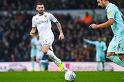 Leeds United defender Stuart Dallas (15) during the EFL Sky Bet Championship match between Leeds United and Queens Park Rangers at Elland Road, Leeds, England on 2 November 2019.